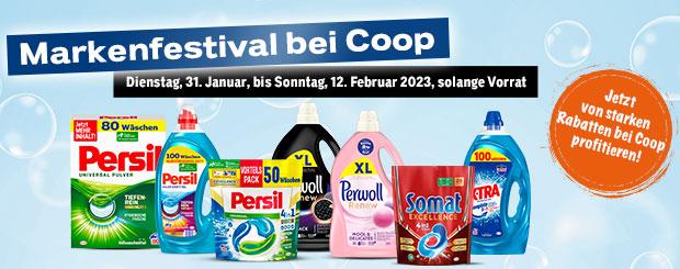 Markenfestival bei Coop