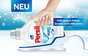 NEU: Saubere & glatte Wäsche dank Persil!