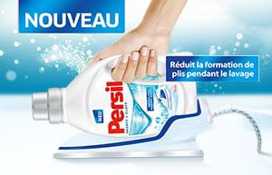 NOUVEAU: linge propre et sans plis grâce à Persil!