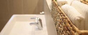 Schicken Stauraum schaffen in Bad & Gäste-WC