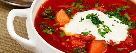 Soupe de tomate aux légumes