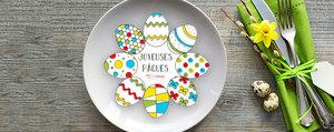 Coloriage : super dessins faits maison pour Pâques