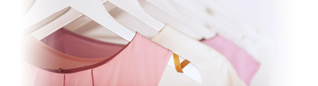 Rutschfeste Kleiderbügel durch Gummibänder