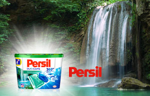 NEU: Persil Duo-Caps Frischer Wasserfall