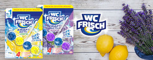 WC Frisch – désormais avec nouveau parfum supplémentaire
