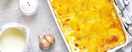 Würzig-cremiges Kartoffelgratin
