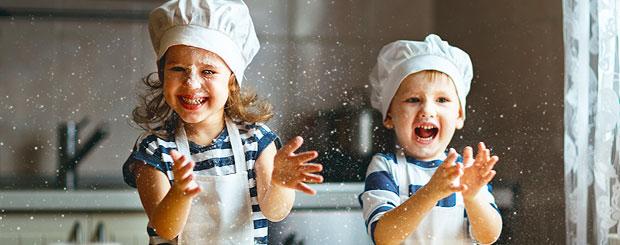 Cuisine et enfants: drôles recettes de crêpes