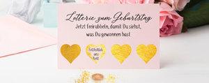 Geschenkidee: DIY-Rubbelkarte