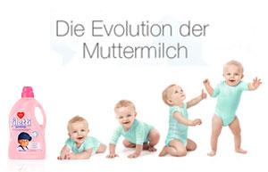 Muttermilch - für den optimalen Start ins Leben!