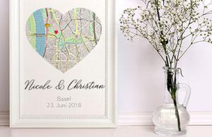 Geschenkidee zur Hochzeit: DIY-Bilderrahmen