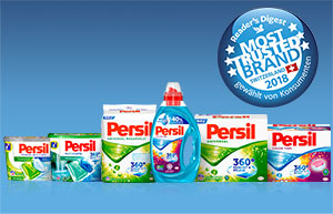 Persil zur vertrauenswürdigsten Marke gewählt!