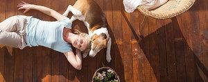 Terrassenböden reinigen – so geht's