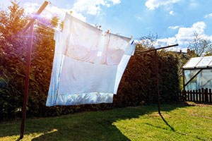 Wäsche im Freien trocknen - Henkel Lifetimes