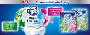 Neu: WC Frisch Duft Switch