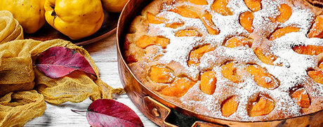 Fruchtiger Quittenkuchen