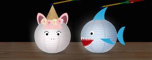 Bricolage de lanternes avec des enfants