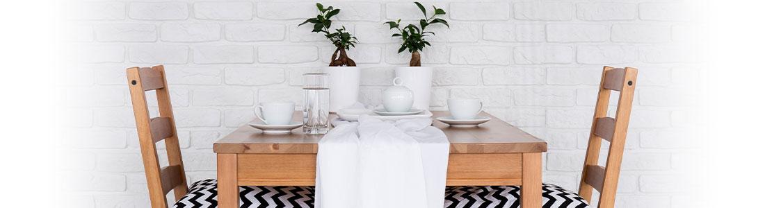 Une table dressée