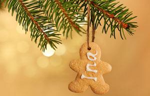 Noël: déco et idées cadeaux en biscuits