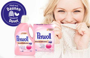 Perwoll: Die optimale Pflege für Wolle & Daunen