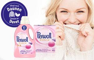 Perwoll: l'entretien idéal pour laine et duvet