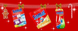 Glänzende Festtage mit Somat!