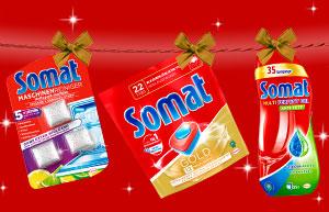 Jours de fête brillants avec Somat!