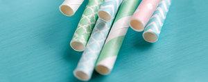 Ade Trinkhalm aus Plastik – nachhaltige Alternativen