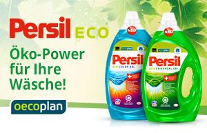 NEU: Persil Eco  – Öko-Power für Ihre Wäsche