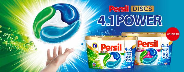 NOUVEAU: Persil DISCS 4en1
