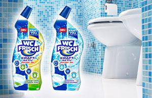 Nouveau: Gels nettoyants WC de WC Frisch