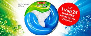 Jetzt 1 von 25 Persil DISCS Luftmatratzen gewinnen