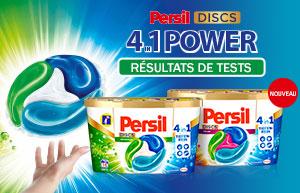 Rapport de test sur les nouveaux Persil DISCS