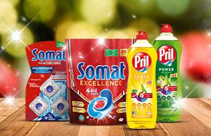 Jours de fête brillants avec Somat et Pril!