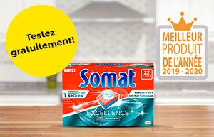 Testez gratuitement les tablettes Somat Excellence