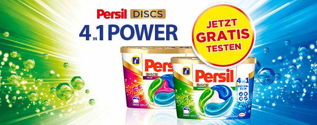 Jetzt Persil DISCS gratis testen!
