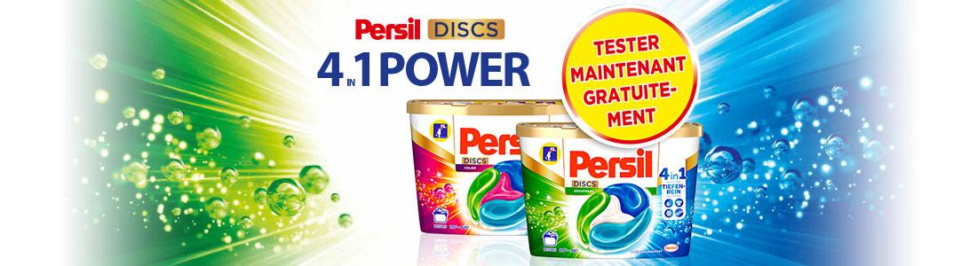 2 paquets de Persil DISCS Universal et Color