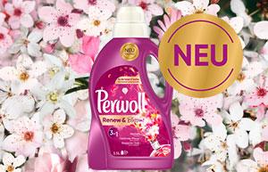 NEU: Perwoll Renew & Blossom