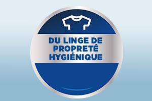 Logo de la blanchisserie