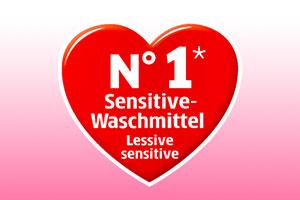 Herz filetti Sensitiv-Waschmittel