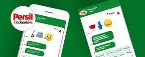 Persil Fleckenhilfe Chatbot – rund um die Uhr für Sie da!