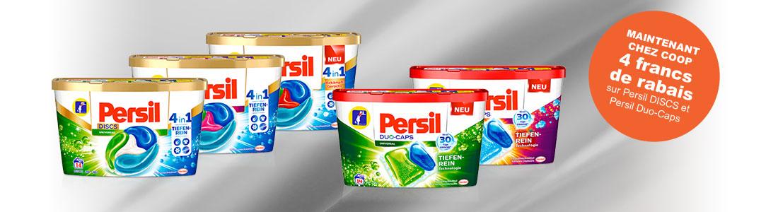 Persil DISCS et Caps Images des produits