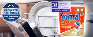 Un lavage de la vaisselle hygiénique à la maison