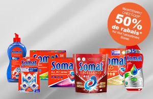 Testez Somat et bénéficiez de 50 % de remise!
