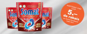 Bénéficiez maintenant de 5 francs de remise sur les nouvelles Somat Caps!