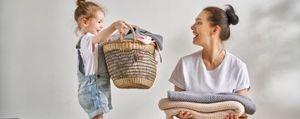 Wäsche waschen für sensible Haut