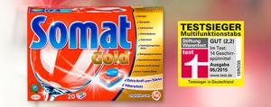 Somat Gold: Überlassen Sie das Spülen dem Testsieger