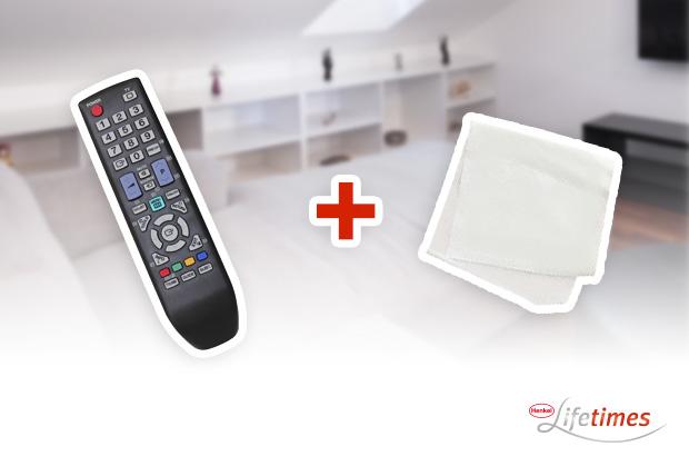 4 astuces pour nettoyer t l phone t l commande henkel lifetimes. Black Bedroom Furniture Sets. Home Design Ideas